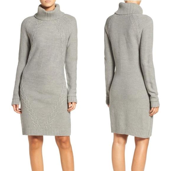 fc82318ef26 Eliza J Cable Illusion Turtleneck Sweater Dress 42